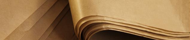 Крафт бумага  с полиэтиленом Коммунар